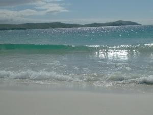 Meal Beach, Burra Isles, Shetland by Robin Gosnall